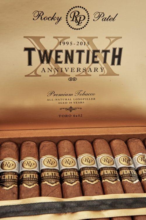 Cigar Rocky Patel Twentieth Anniversary Natural 6