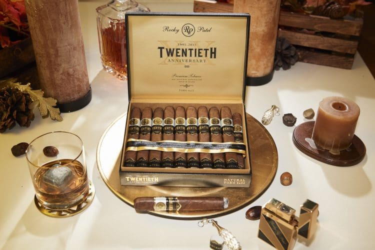 Cigar Rocky Patel Twentieth Anniversary Natural 9