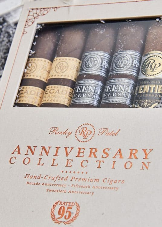 Cigar Rocky Patel Gift Pack Anniversary Collection 1