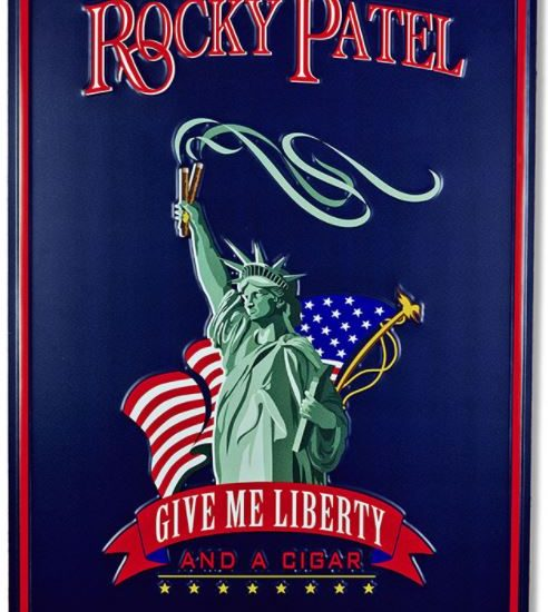 Give Me Liberty Tin Sign