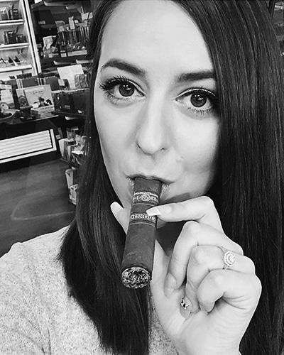 Jara Murphy Rocky Patel Cigar Rep